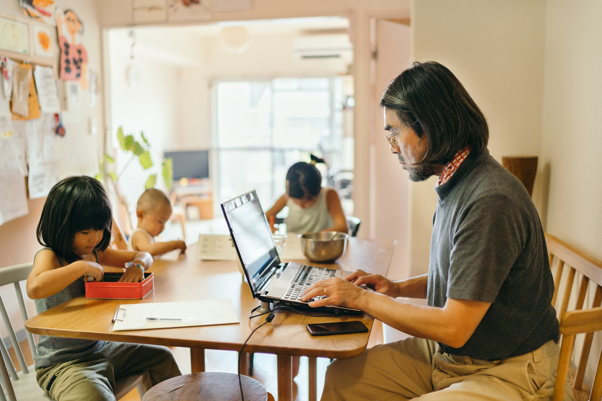 How to work efficiently from home teleworking